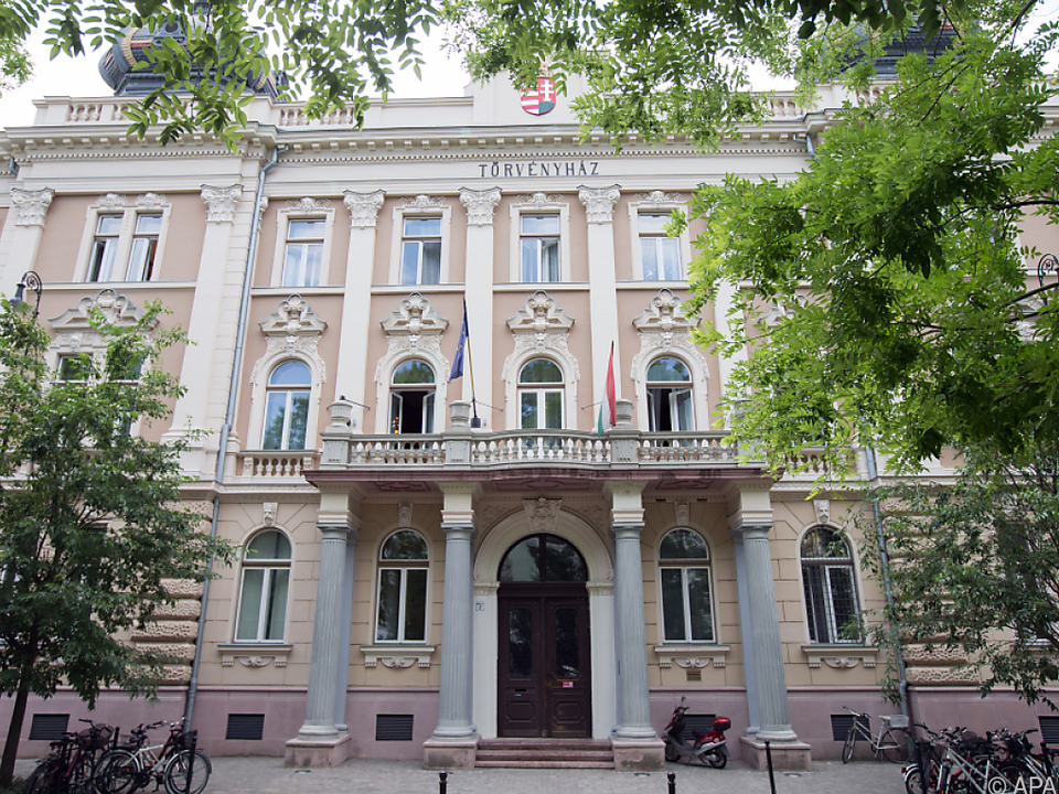 Urteilsspruch in der südungarischen Stadt Kecskemet