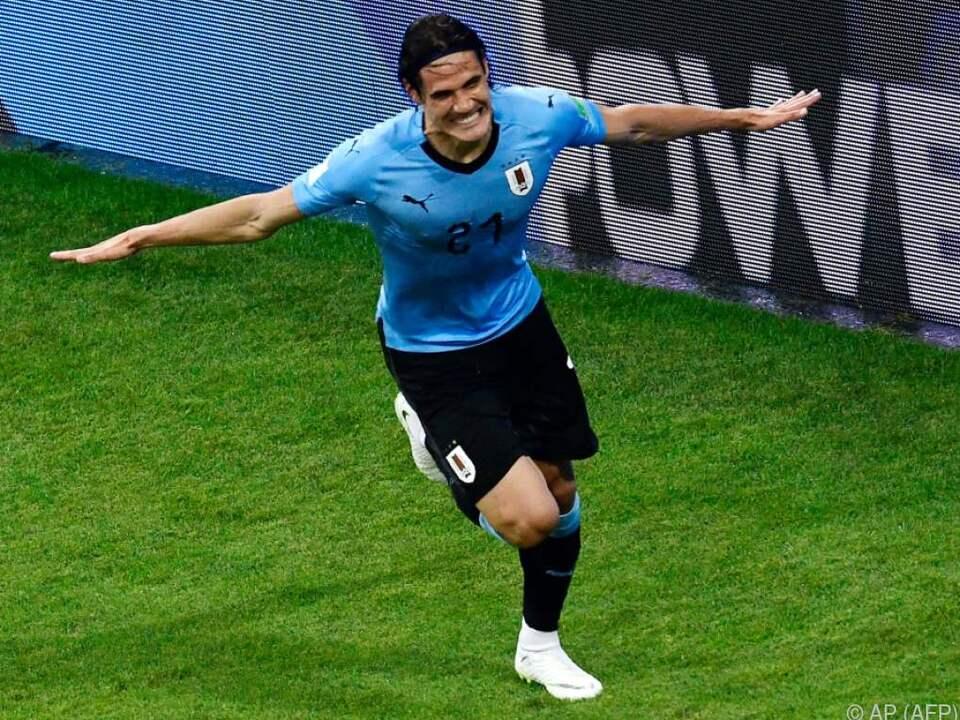 Uruguay steht als zweite Mannschaft im Viertelfinale