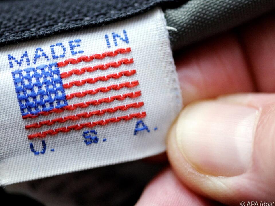 US-Produkte werden teurer