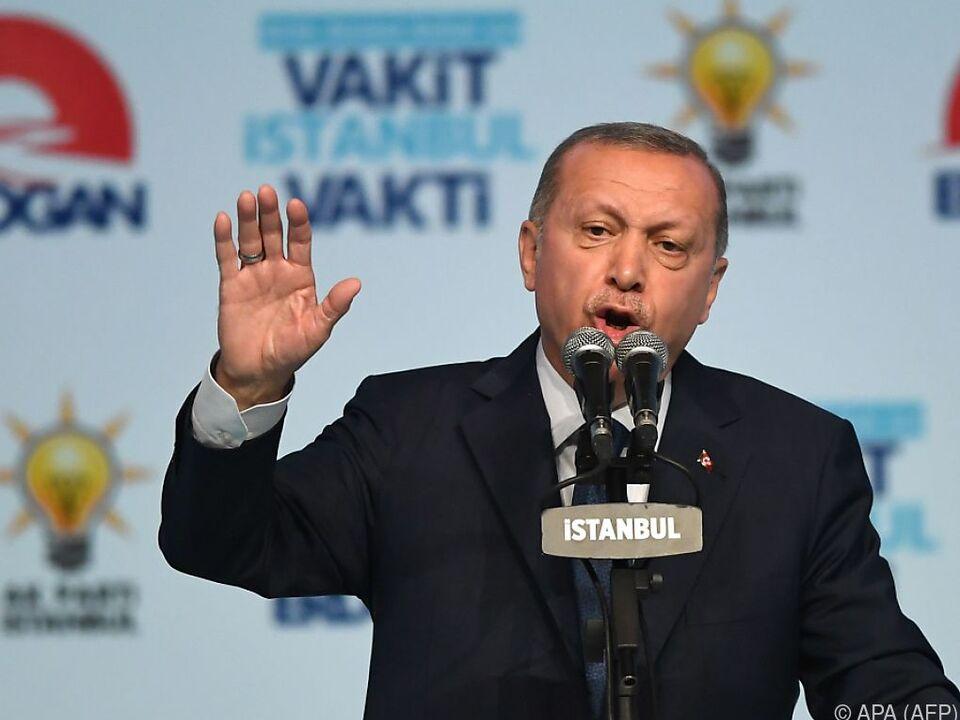 Viel mehr als Spott hat Erdogan für Österreich nicht übrig