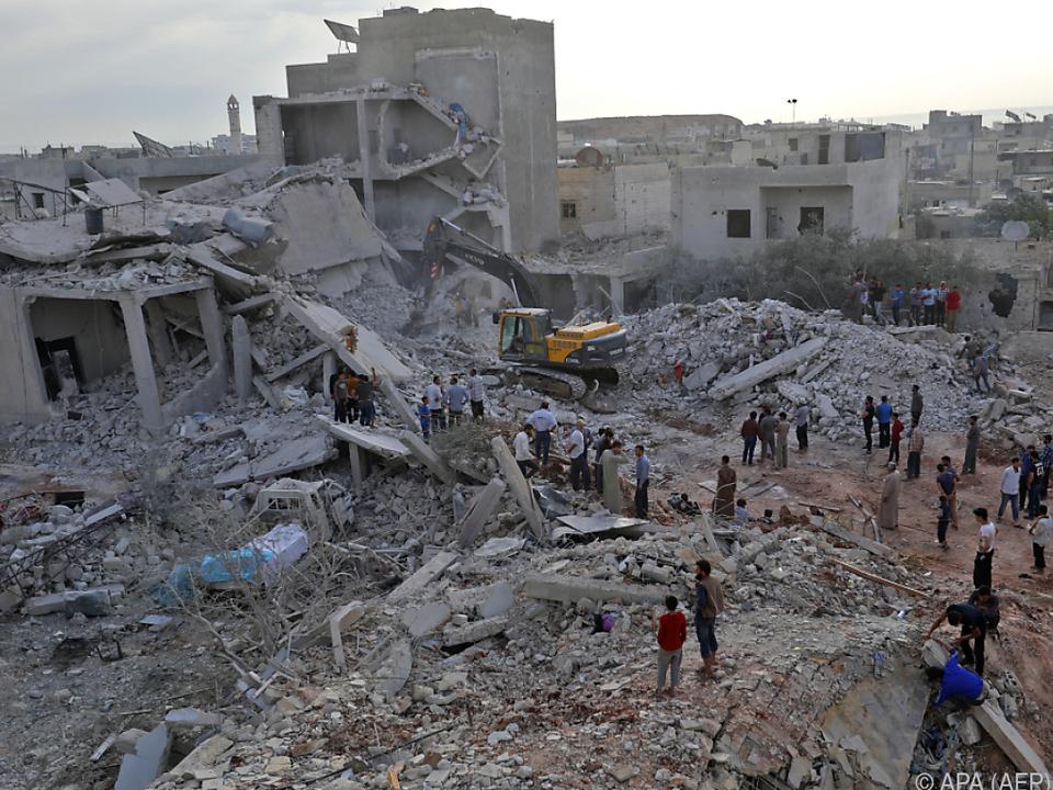 Viele Tote und Verletzte in der Provinz Idlib