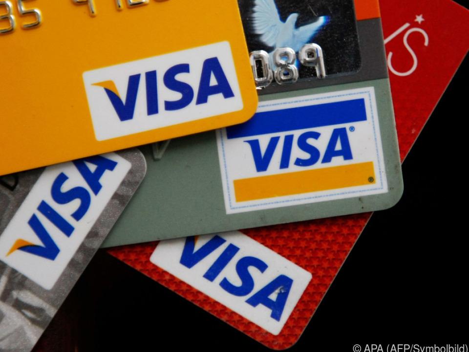 Visa räumt Probleme ein