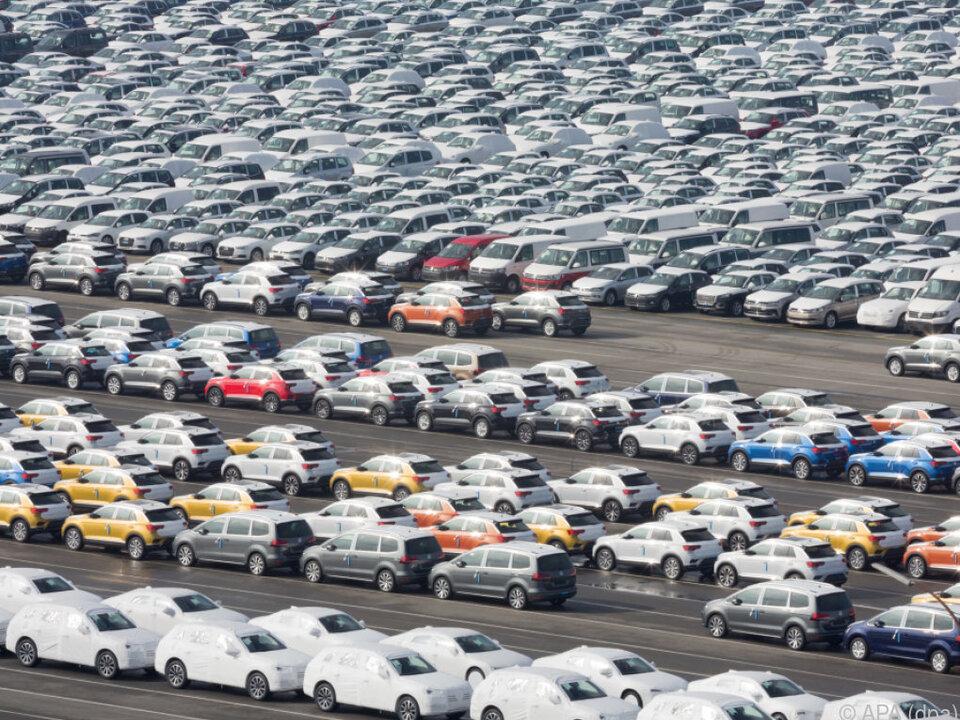 Volkswagen hat Parkplatzprobleme