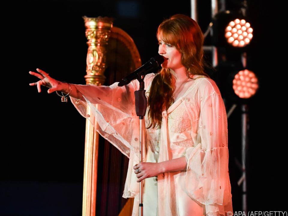 Welch verdankt ihrer eindrucksvollen Stimme eine steile Karriere