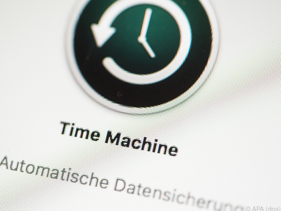 Es lohnt sich das Backup-Programm Time Machine zu nutzen