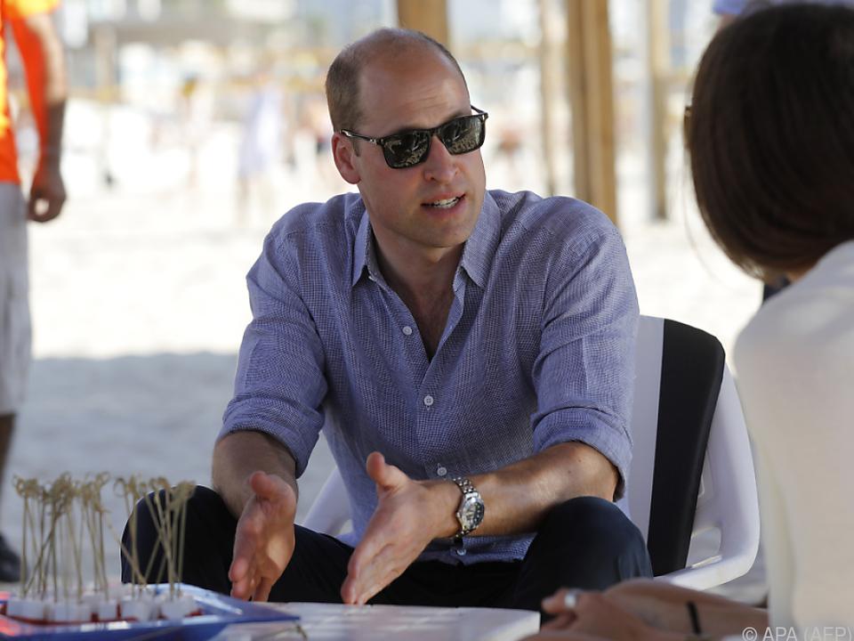 William ist derzeit in Israel unterwegs