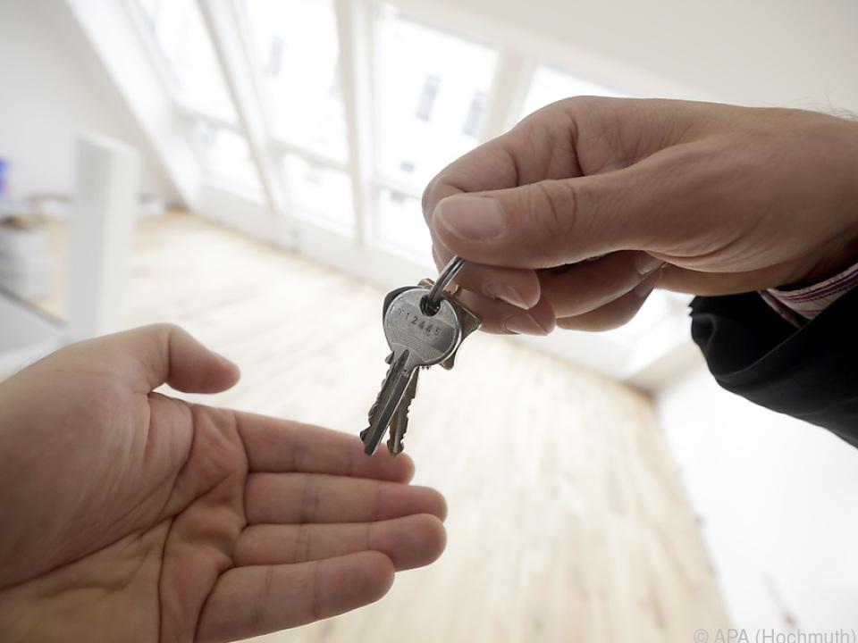 Wohnungsmieten verteuerten sich um 3,8 Prozent