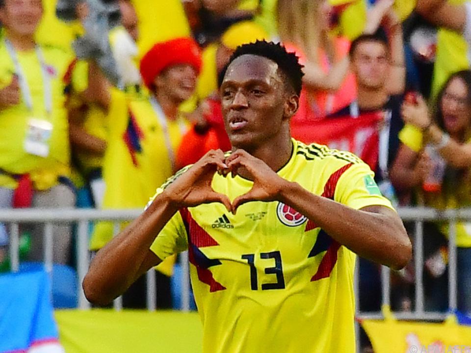 Yerry Mina traf zum 1:0-Sieg Kolumbiens gegen Senegal