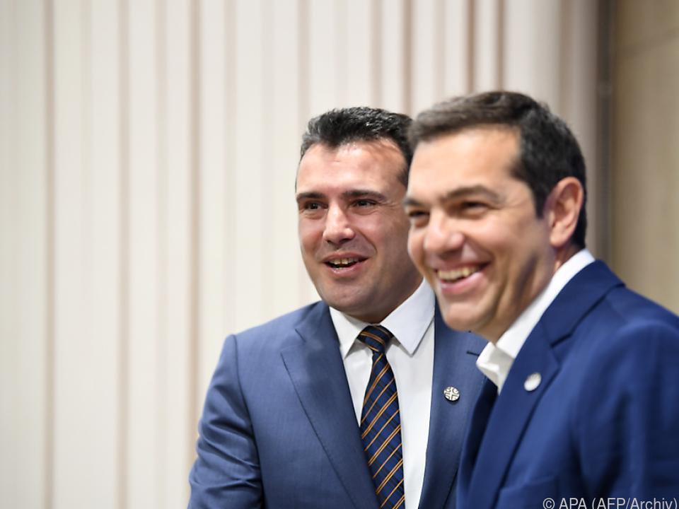 Zaev telefonierte mit Griechenlands Premier Alexis Tsipras