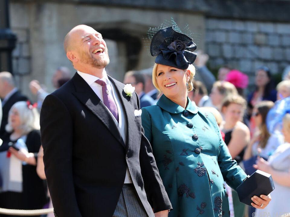 Zara Tindall und Ehemann Mike freuen sich über Nachwuchs