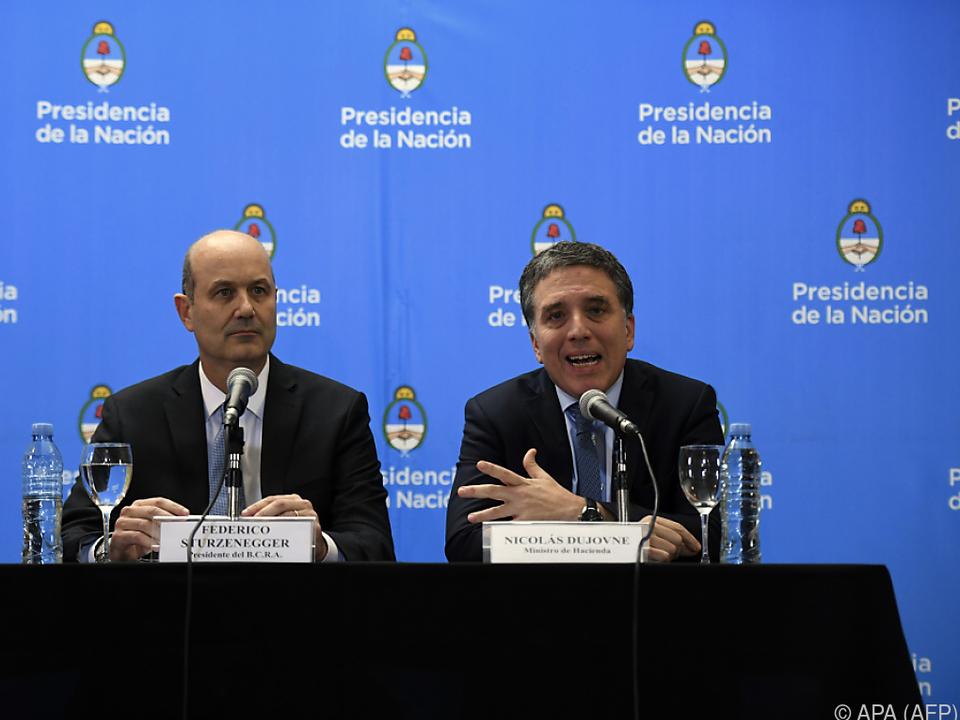 Argentinien - IWF gewährt Argentinien Kredit über 50 Milliarden Dollar