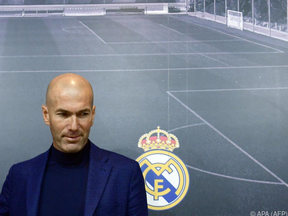 Zidane macht Platz für frische Kräfte
