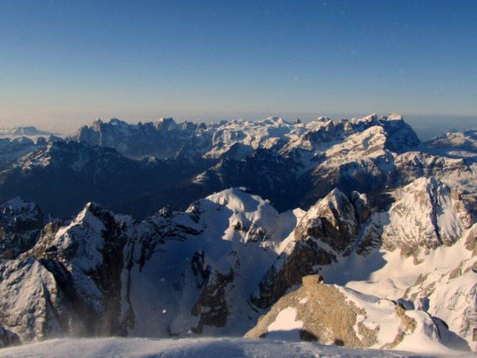 Marmolada Dolomiten Berg Schnee