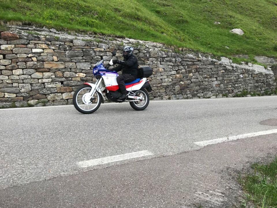 Motorrad symbol Timmelsjoch straße