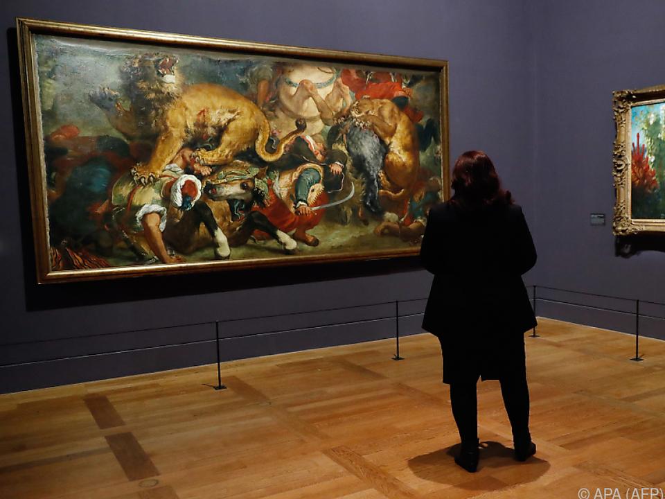 540.000 Besucher wollten Delacroix bisher sehen