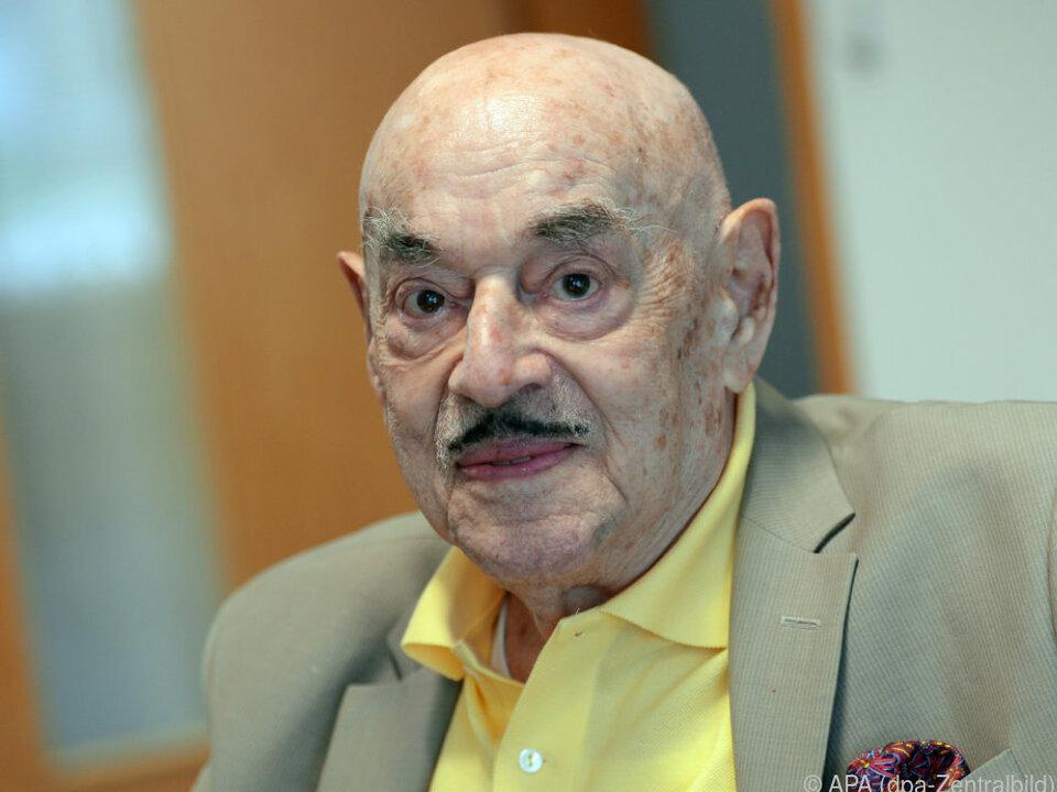 Artur Brauner feiert am Mittwoch seinen 100. Geburtstag