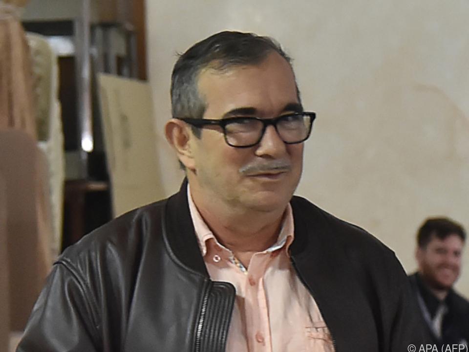 Auch dem Ex-FARC-Kommandanten Londono wird der Prozess gemacht