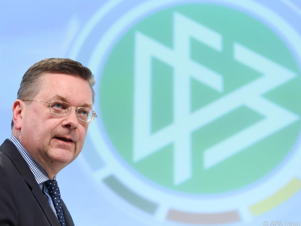 Auch DFB-Präsident Grindel wird heftig kritisiert