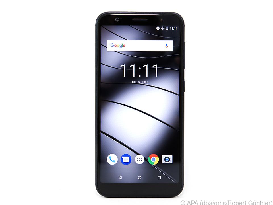 Auf dem GS185 läuft ein pures Android 8.1 ohne Software-Schnickschnack