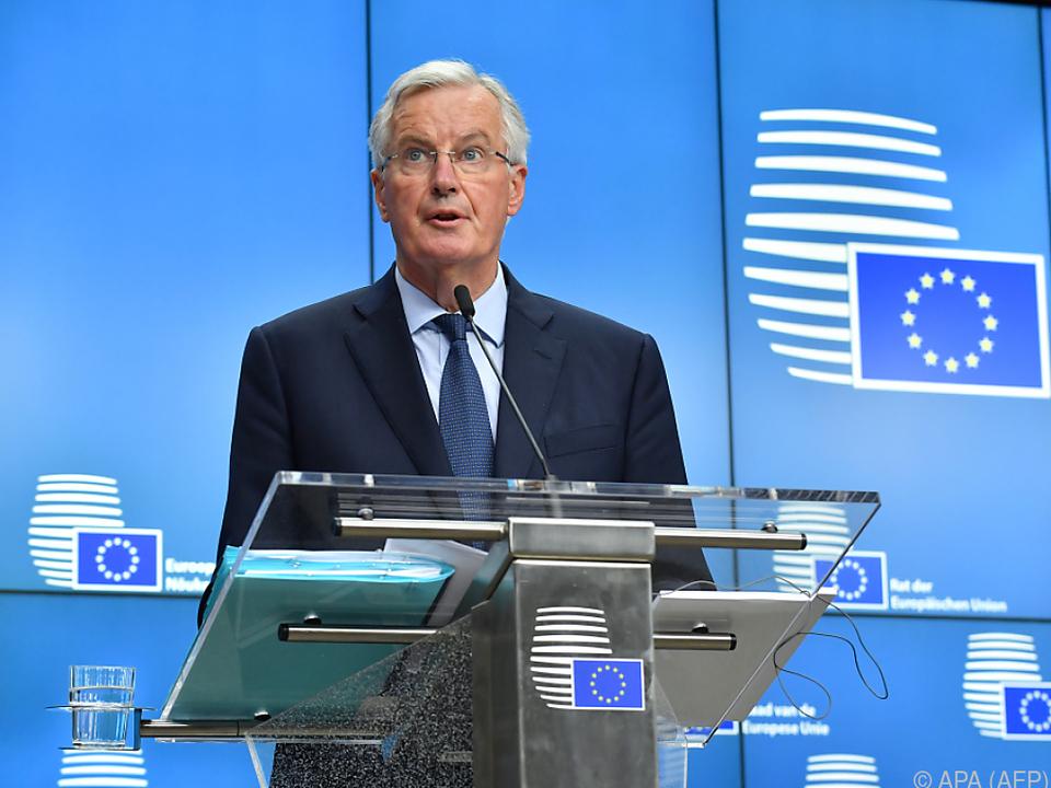 Barnier fordert eine schnelle Entscheidung