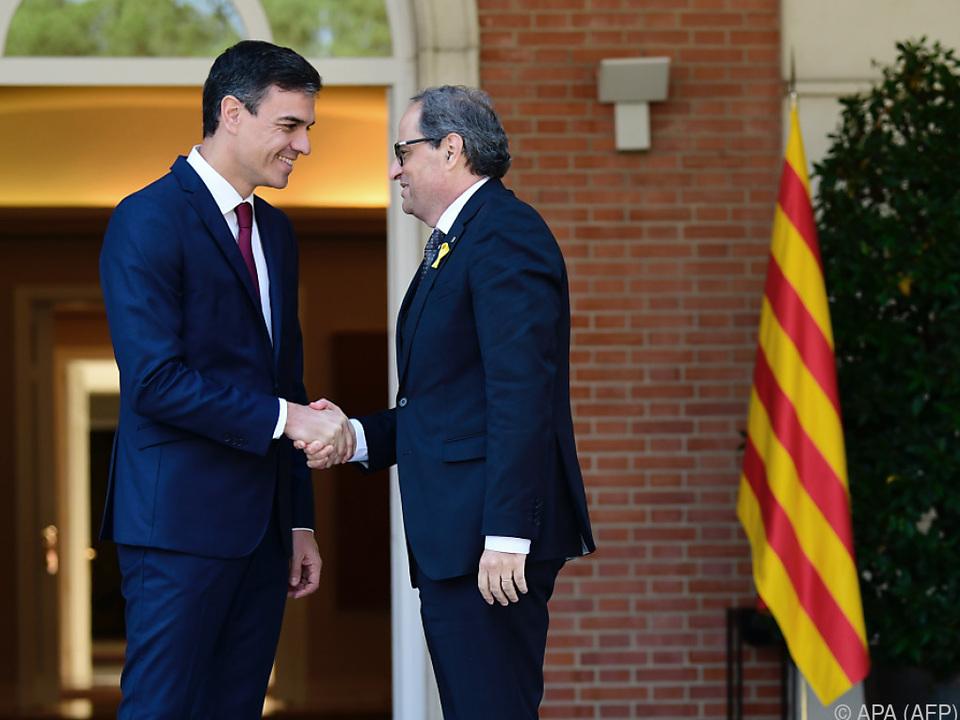 Beide Politiker suchen den politischen Dialog