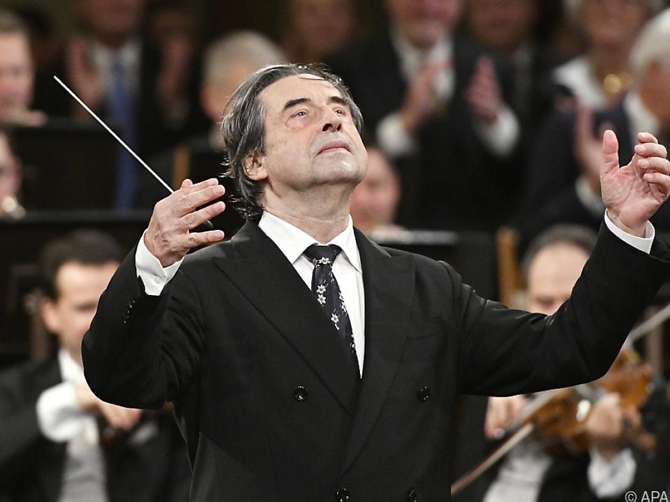 Beim Jubiläum dirigierte Muti Verdis \