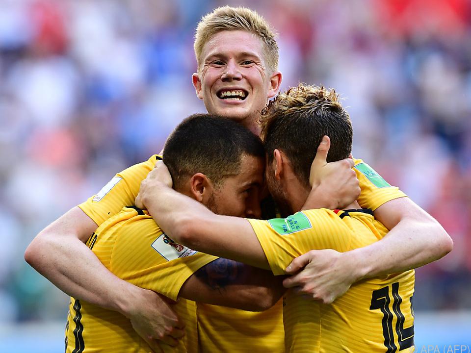 Belgien durfte im letzten Spiel nochmal jubeln