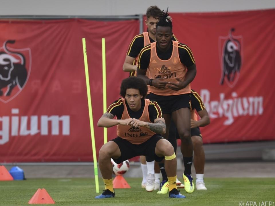Belgien geht voller Selbstvertrauen in das Match gegen die Japaner
