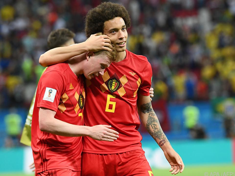 Belgien wird Rolle als Geheimfavorit bisher gerecht