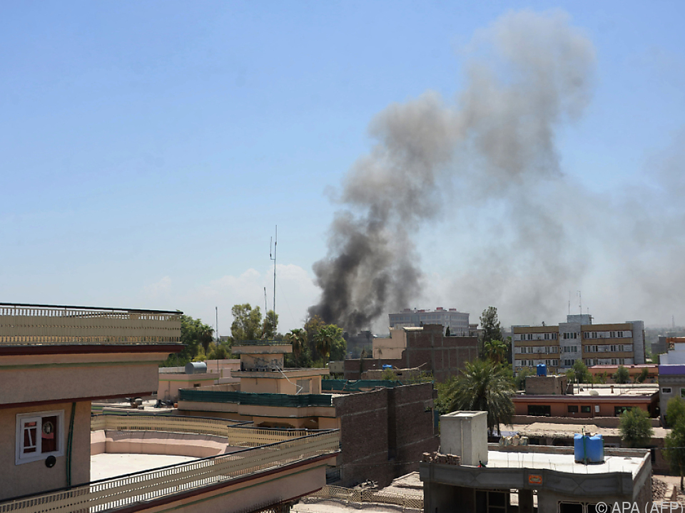Bewaffneter Angriff auf Regierungsgebäude in Jalalabad