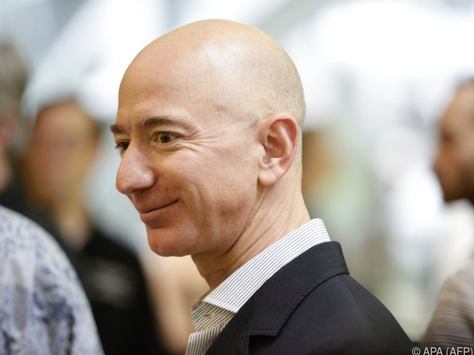 Bezos profitierte vom Anstieg der Amazon-Aktie
