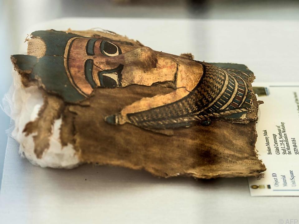 Bisher sind nur zwei weitere ähnliche Funde bekannt