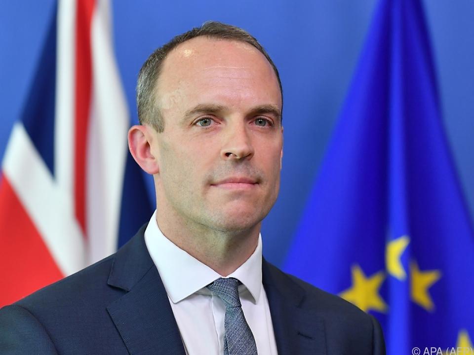 Brexit-Minister Raab wird eine Stellvertreter-Rolle einnehmen