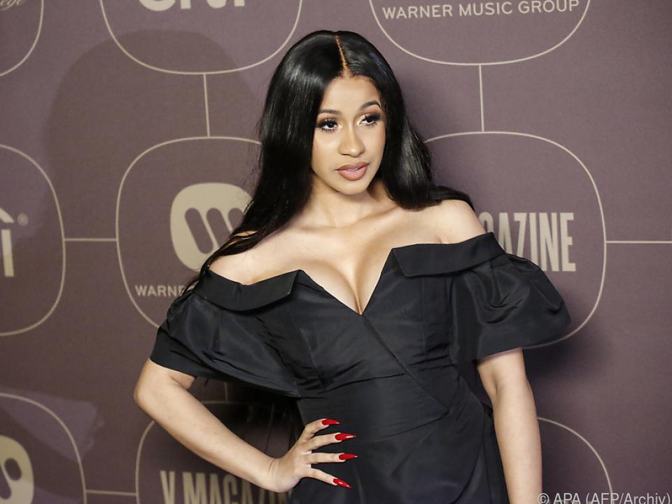 Cardi B ist für zehn Preise bei MTV Video Music Awards nominiert