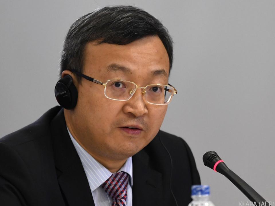 Chinas Vize-Handelsminister zeigte sich \