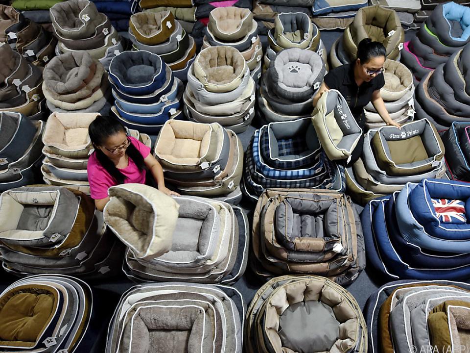 Chinesische Waren werden in den USA jetzt teurer