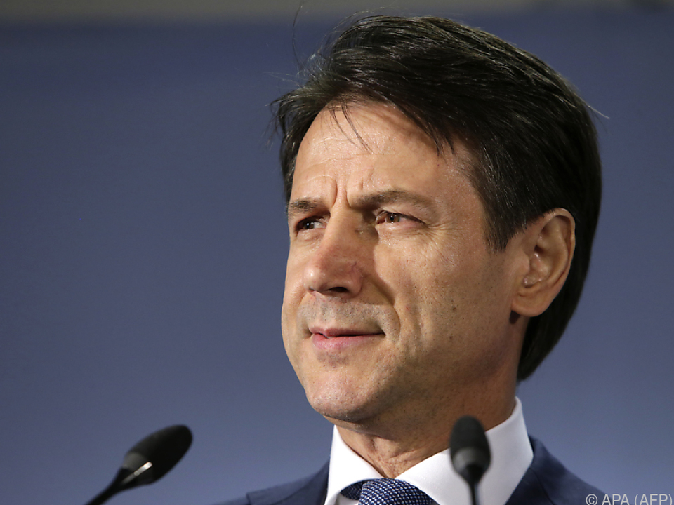 Conte wendete sich mit einem Brief an EU-Politiker