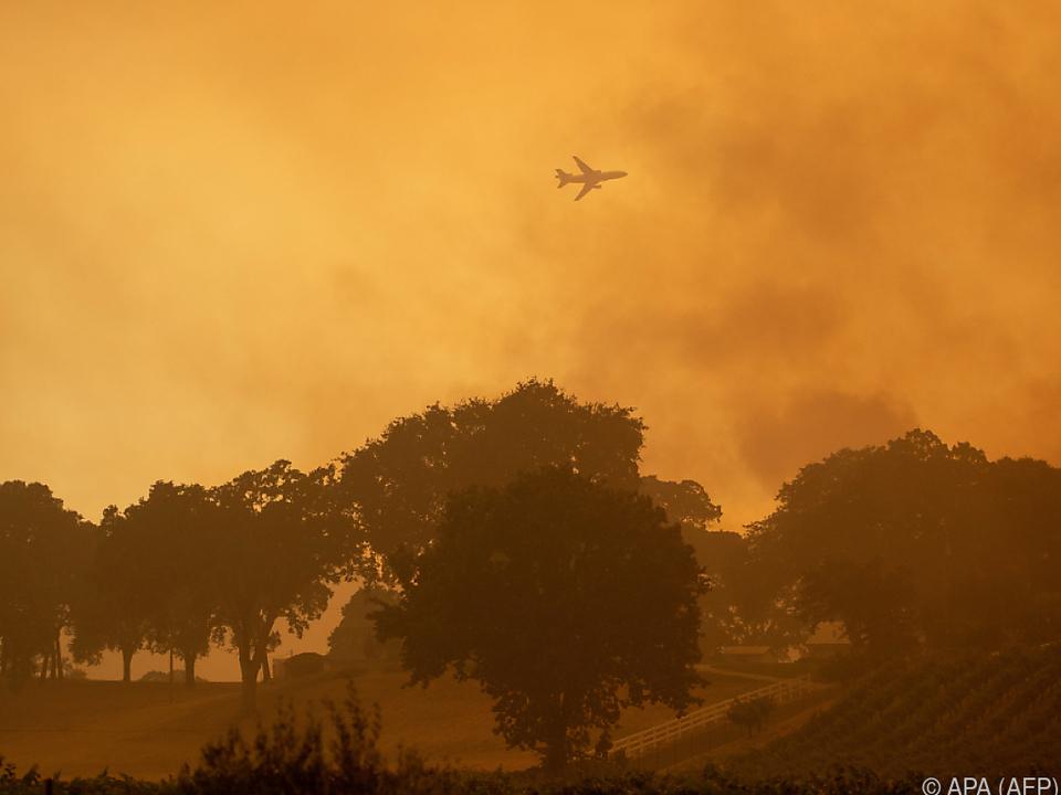 Das Feuer forderte bisher sieben Menschenleben