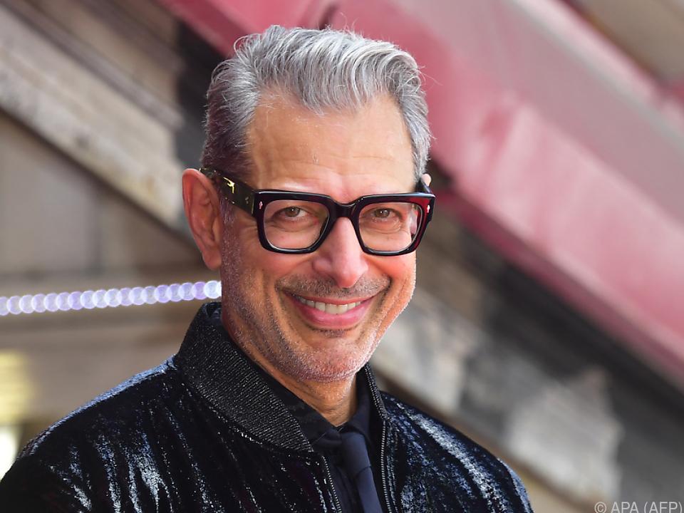 Das ist der echte Jeff Goldblum, keine Statue