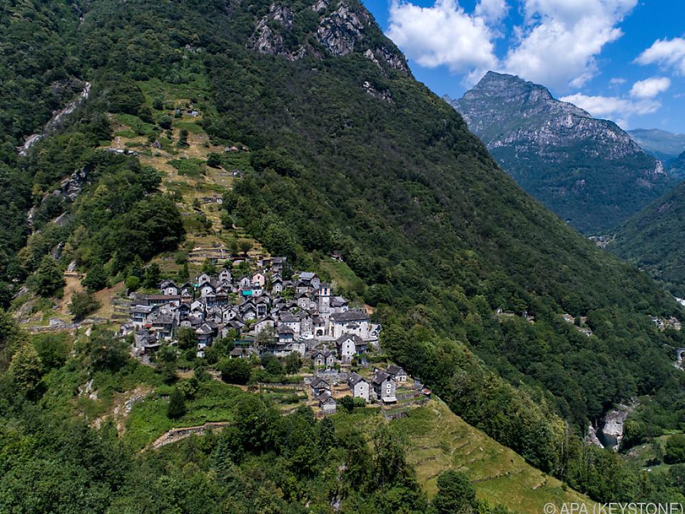 Das kleine Dorf soll als Hotelanlage für Furore sorgen