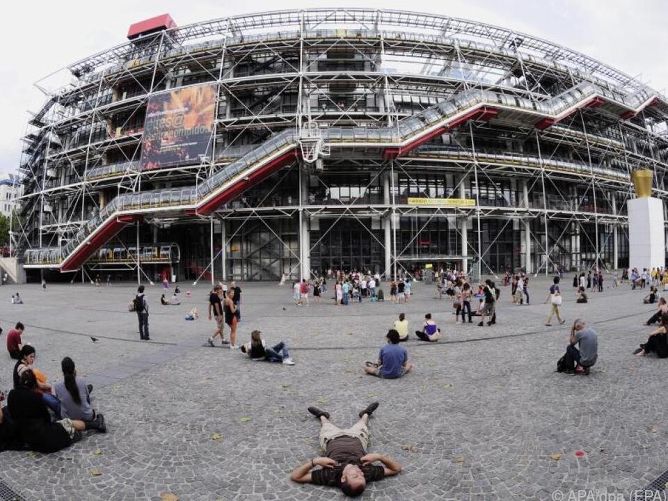 Das Pariser Centre Pompidou ist Richard Rogers bekanntestes Bauwerk