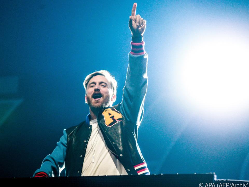 David Guetta tritt jedes Jahr auf dem Tomorrowland-Festival auf