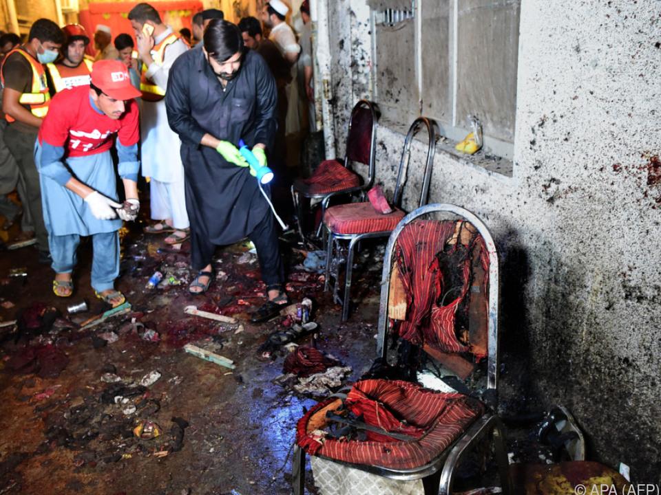 Der Anschlag forderte auch über 60 Verletzte