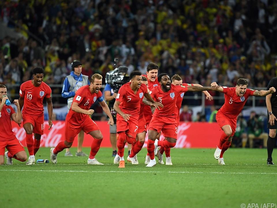 Der Elfmeter-Fluch ist besiegt, England steht im Viertelfinale