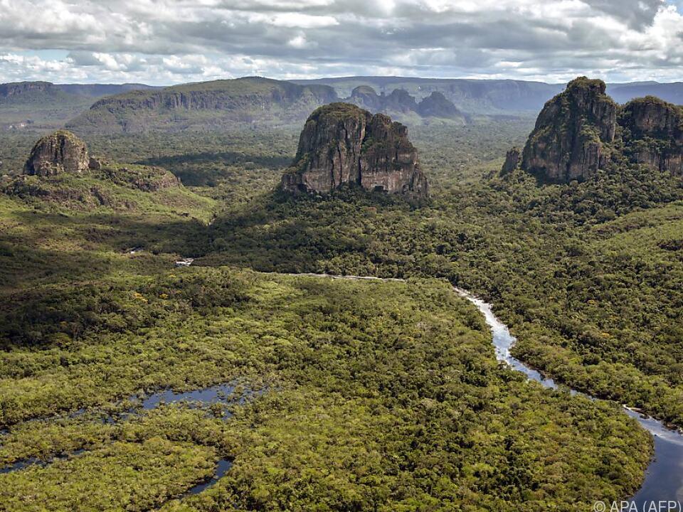 Der Nationalpark wurde zum UNESCO-Welterbe erklärt