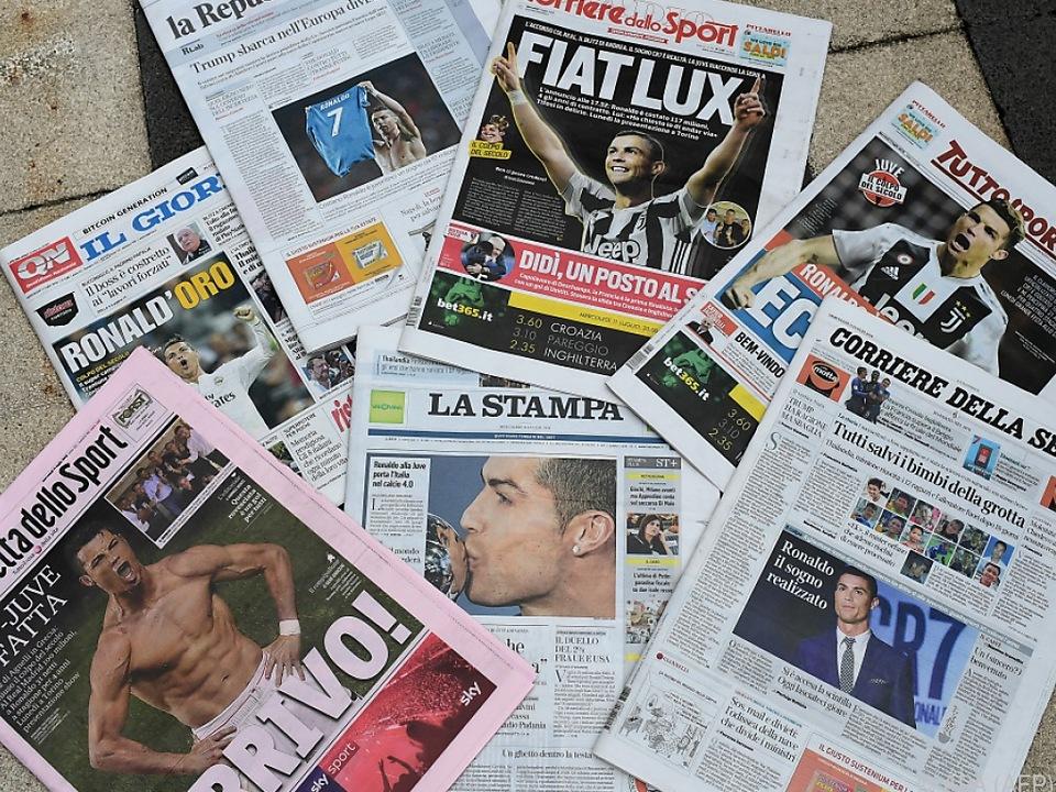 Der Ronaldo-Transfer schlägt hohe Wellen