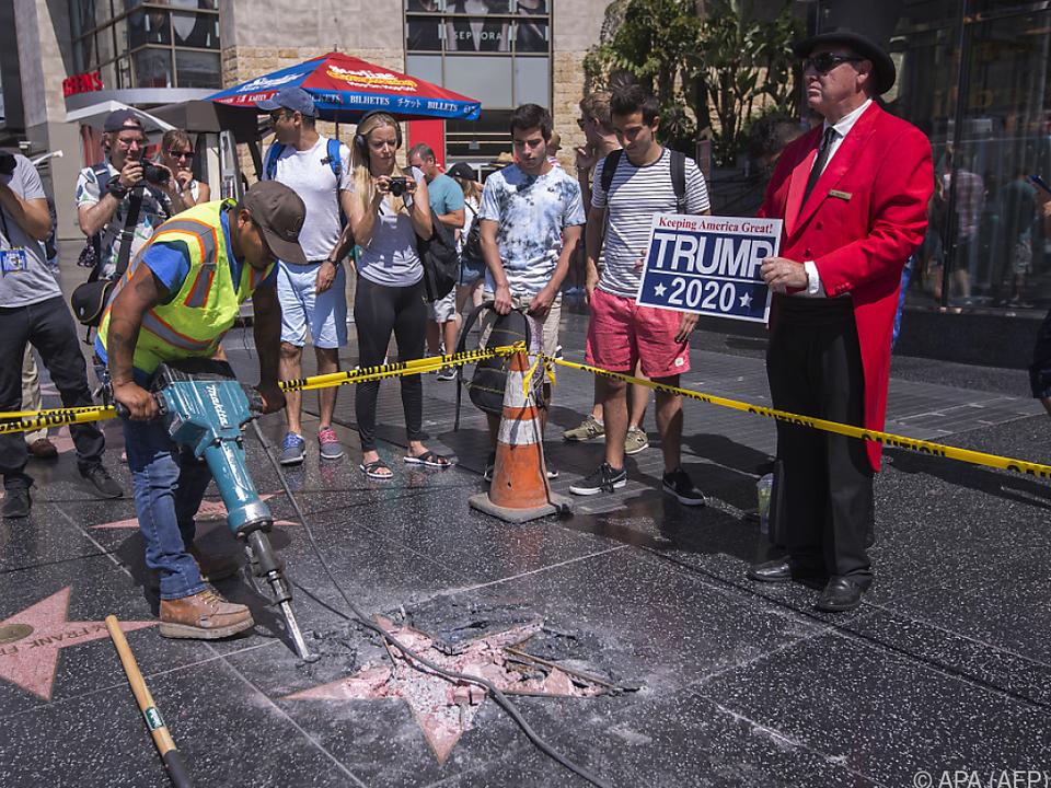 Ja, es gibt tatsächlich Fans von Trump