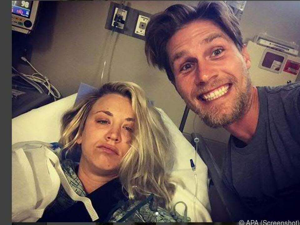 Der US-Serienstar liegt derzeit im Krankenhaus