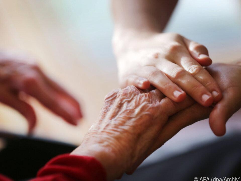 Der Wertverlust geht zu Lasten der häuslichen Pflege
