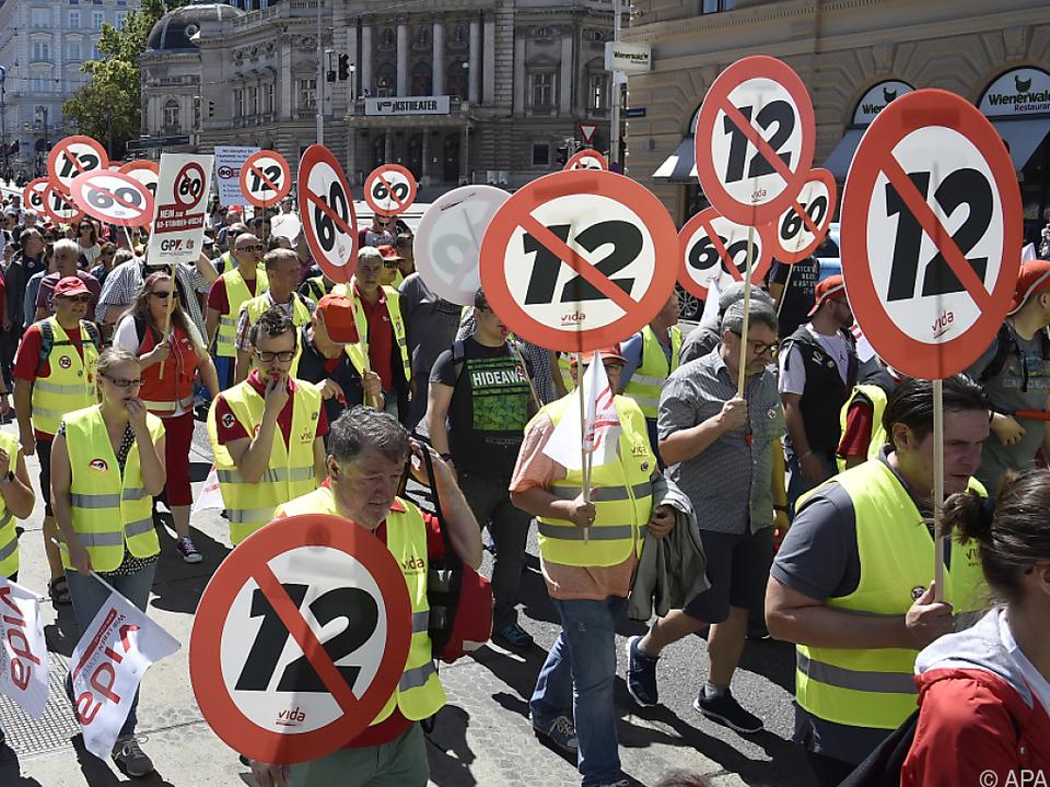 Der Widerstand gegen das geplante Gesetz ist breit